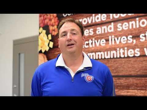 Volunteering at the Food Bank of Iowa