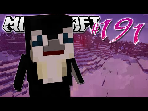 Minecraft | CUTE PENGUIN PET!! | Diamond Dimensions Modded Survival #191