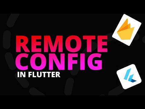 Remote Config in Flutter