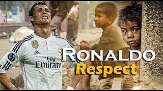 Cristiano Ronaldo Respect/Emotional moments ● NEW