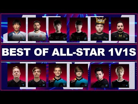 THE BEST 1V1s OF LOL ALL-STAR 2018 (11 minutes)