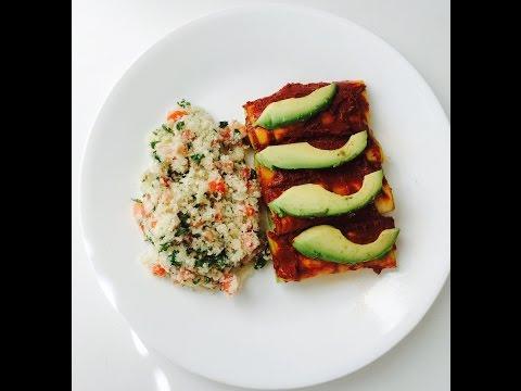 Raw Vegan Red Enchiladas, Updated Version