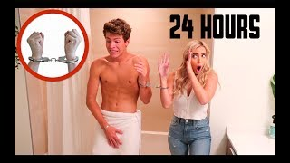 HANDCUFFED TO BEN FOR 24 HOURS!!