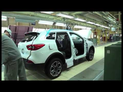 2016 Renault KADJAR assembly in Wuhan | AutoMotoTV