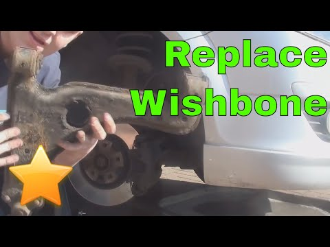 How to: Replace the Wishbone/ Control Arm/  Ball Joint