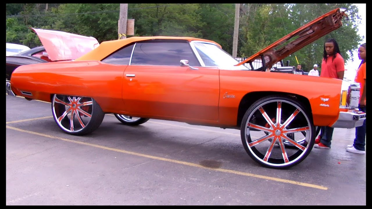 Chevy Caprice on 30's - YouTube