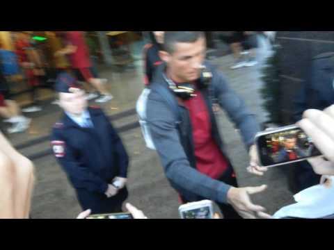 Роналдо в Казани ( Cristiano Ronaldo In Kazan)