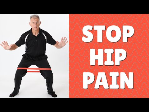 STOP HIP PAIN & Snapping, 5 Best Exercises at Home