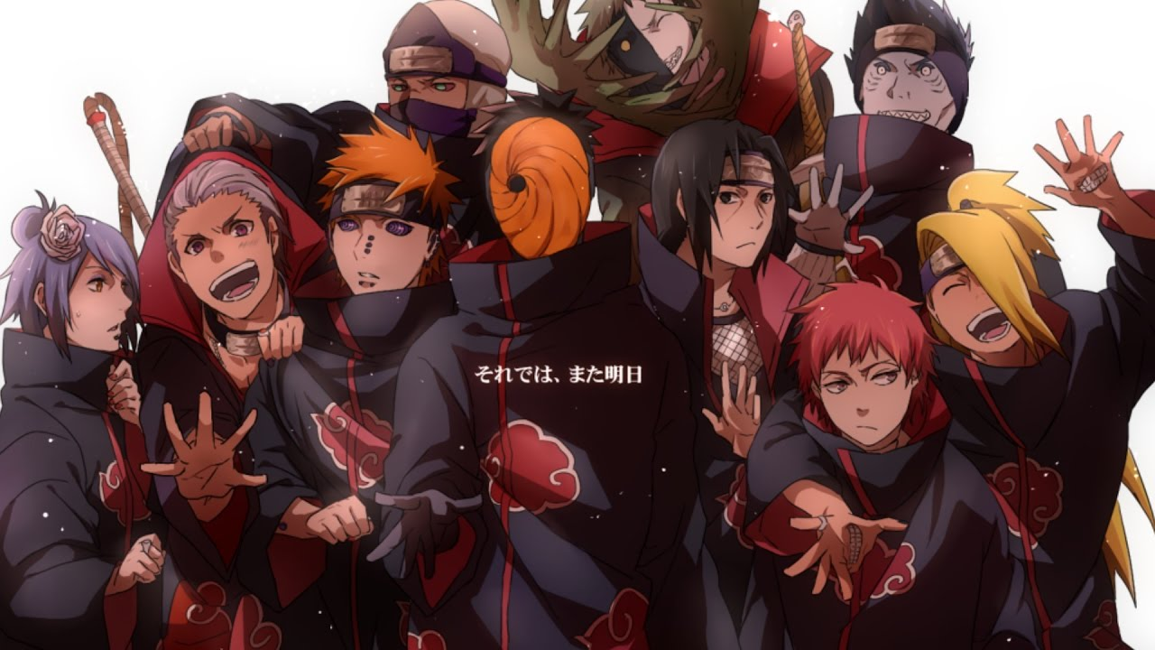 Top 15 Strongest Akatsuki Members {Final Version} - YouTube