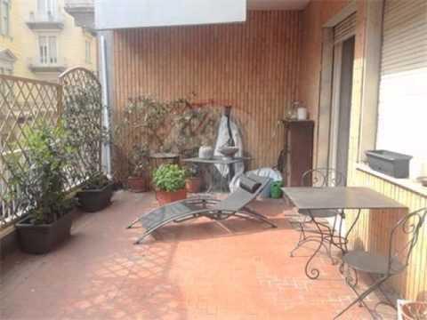 affitto appartamento con terrazzo via san quintino torino