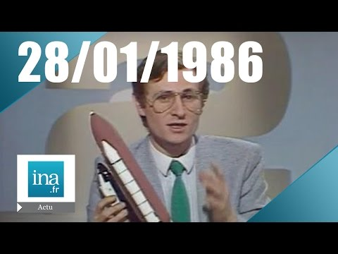 20h Antenne 2 du 28 janvier 1986 - Explosion de la navette Challenger | Archive INA