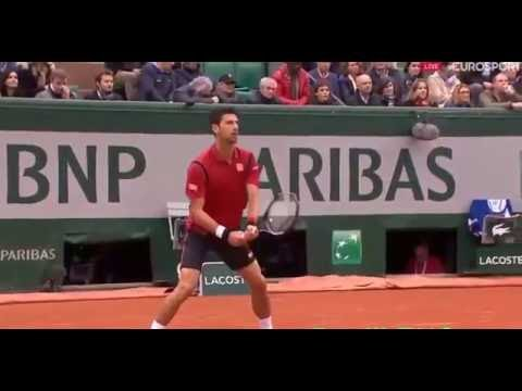 Novak Djokovic vs Dominic Thiem   Roland Garros/semi final 2016 full Highlights HD... 3 June 2016
