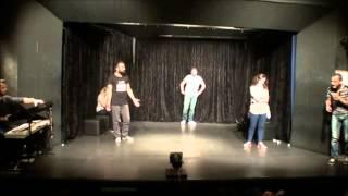 Hayal Meal Tek Harf Tiyatro Sporu Gösterisi