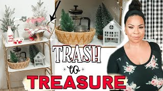 Trash to Treasure Project #1 🎄Christmas Decorating ideas from the Thrift Store | Sensational Finds