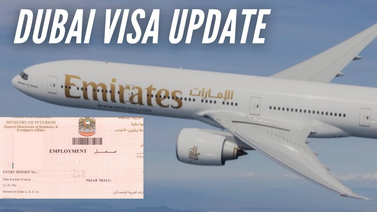 Dubai Visit Visa New Update Today -Dubai Visa News And Update Today