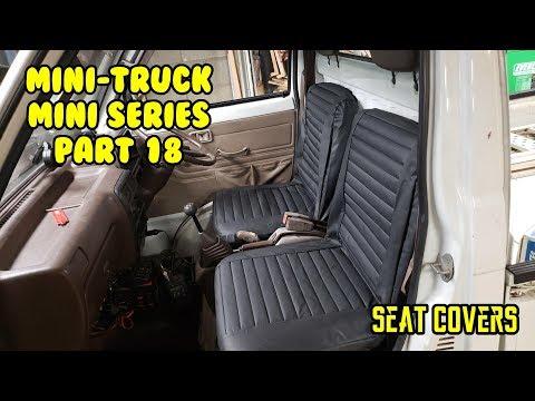 Mini Truck (SE01 EP18) Seat Covers Surplus Storage HiJet Daihatsu Comedy series