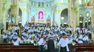 Thánh lễ khai giảng và kỷ niệm 5 năm thành lập xứ đoàn thiếu nhi thánh thể LCTX Bác Trạch