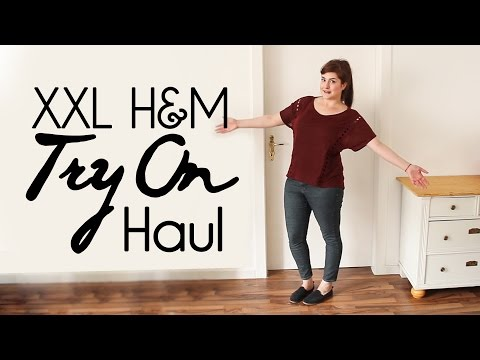XXL H&M Try On Haul // Sommer Edition Gr. 40-44