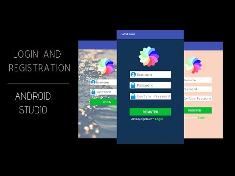 Create Login And Registration Screen In Android Using SQLite | App Development Tutorial- Part 1