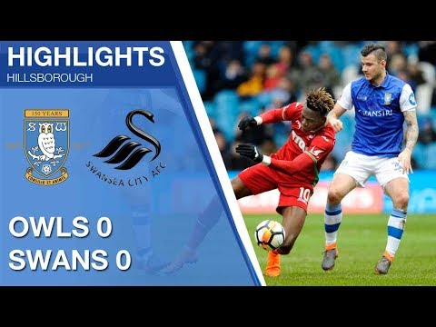 Sheffield Wednesday 0 Swansea City 0 | Extended highlights | 2017/18 FA Cup