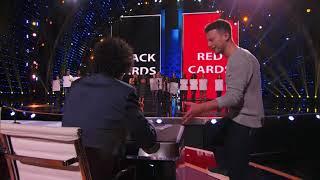 Kevin's card trick stolen on AGT