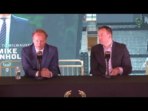 Mike Budenholzer's Introductory Press Conference
