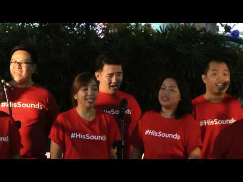 His Sounds(Philippines) 22 Dec 2016 at Celebrate Christmas In Singapore 2016( Wisma Stage )