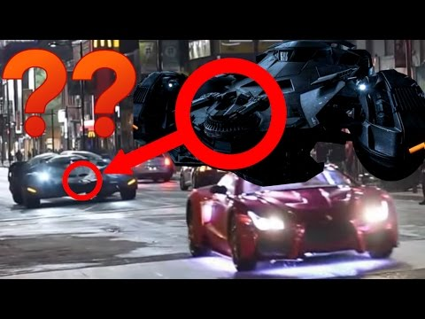 Notice Anything Different about the Batmobile in Suicide Squad?