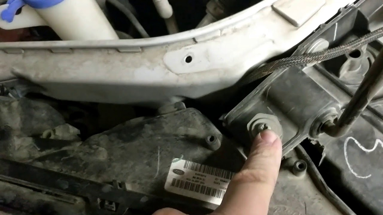 Headlight Bulb Replacement >> 2013 Ford fusion headlight change solved! - YouTube