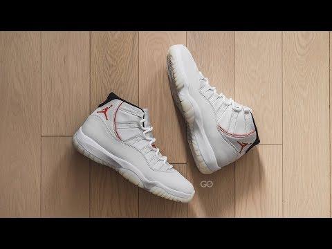 "Air Jordan 11 Retro ""Platinum Tint"": Review & On-Feet"