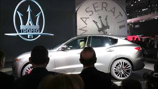 THUNDER AND LIGHTENING announce the 2019 MASERATI LEVANTE TROFEO