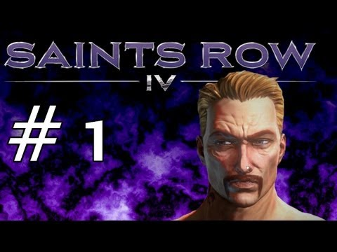 "Saints Row IV Gameplay Walk Through Part 1 - ""Sants Row 4"" Campaign Footage"