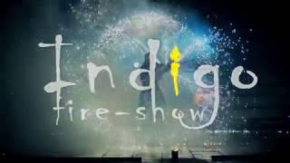 Фаер-шоу на Новый год, Полтава. Новогоднее огненно-пиротехническое шоу Театра огня INDIGO