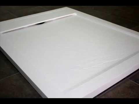 Platos de ducha de resina en asealia youtube for Reparar plato de ducha de resina