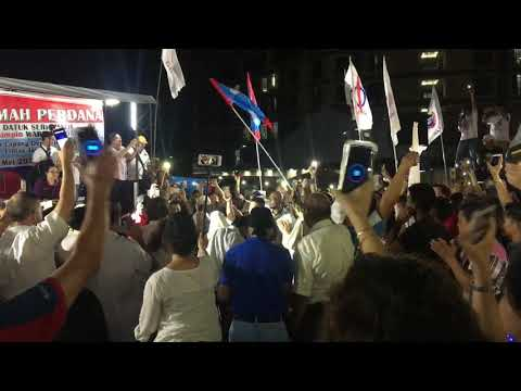 Malaysia General Election 2018 - PKR Wan Azizah campaign in Kota Kinabalu