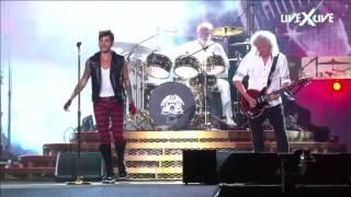 The Show Must Go On I Want It All Queen + Adam Lambert   Rock in Rio 2015 HDTV
