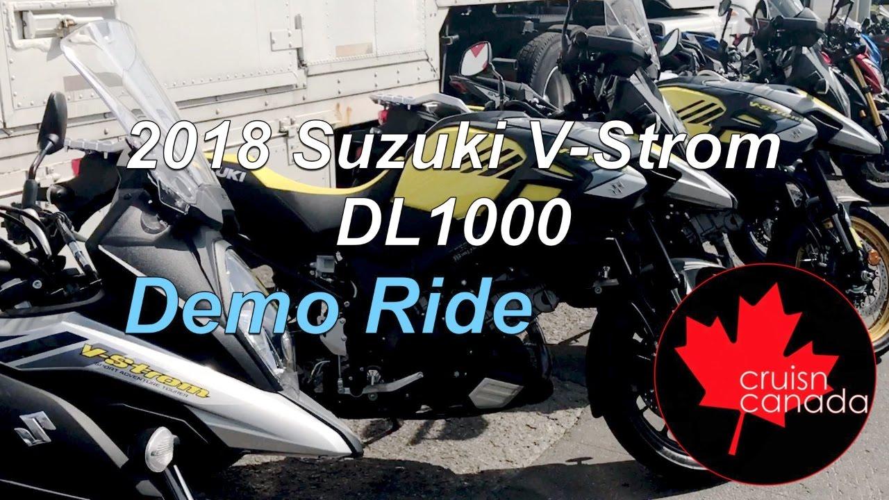 2018 suzuki dl1000. exellent suzuki 2018 suzuki vstrom dl1000 demo ride with suzuki dl1000 l