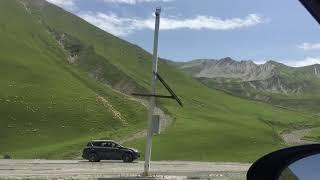 Военно-грузинская дорога. Крестовый перевал. Казбеги - Гудаури. 29.07.2018