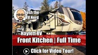 NEW MODEL! 2019 Jayco 383FKWS North Point Front Kitchen Full Time Warranty Luxury Fifth Wheel RV