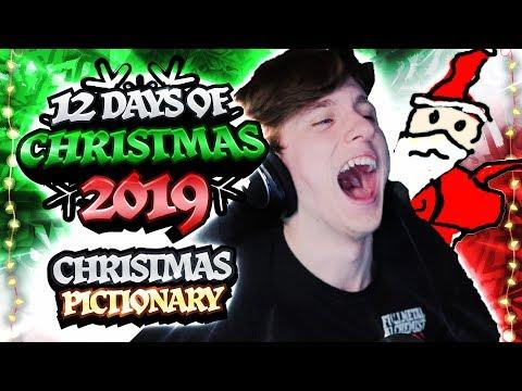 🔴 CHRISTMAS PICTIONARY! | 12 Days Of Christmas 2019 Live Streams - Day 2
