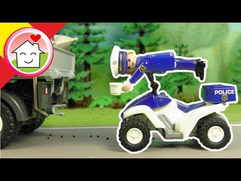 Playmobil policía español El robo del café - La Familia Hauser - Inspector Overbeck