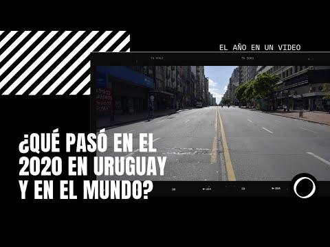 El año en un video: ¿qué pasó en el 2020 en Uruguay y en el mundo?