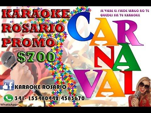ALQUILER KARAOKE EN ROSARIO (FINDE LARGO) (CARNAVALES) PROMOCION 2016