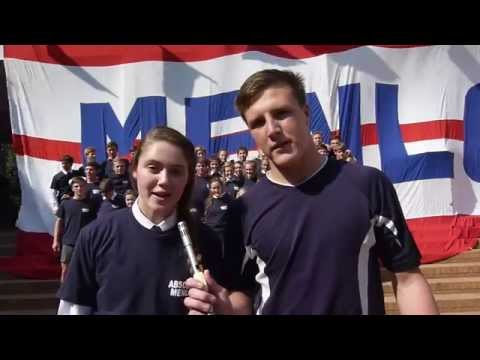 Die Hoërskool Menlopark se ALS  Ice Bucket Challenge