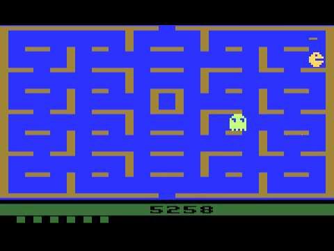 Atari 2600 Game: Pac-Man (1981 Atari)