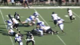 Harding Football Highlights vs. SE Oklahoma State on 11/3/12