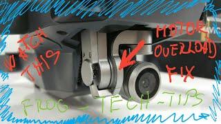 How to Fix Gimbal Motor OVERLOAD on MAVIC PRO