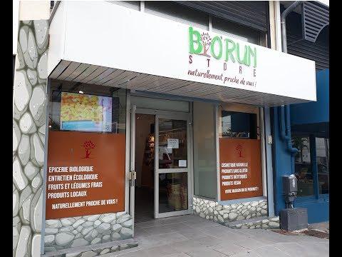 Bienvenue à BIORUN Store, Votre magasin BIO de proximité en centre ville de Saint-Denis