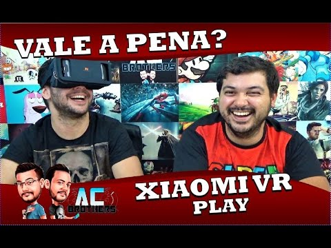 VALE A PENA? XIAOMI VR PLAY | Review Completo!