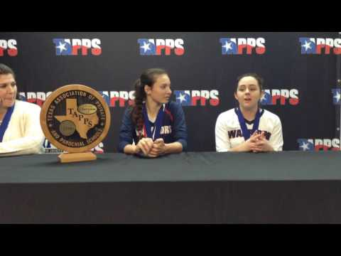 Waxahachie Preparatory Academy Post-Game Press Conference Players
